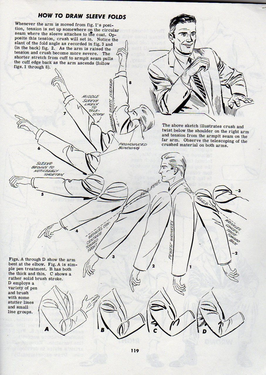 Character Design Tutorial Pdf : Drawing folds excerpt from jack hamm s the head