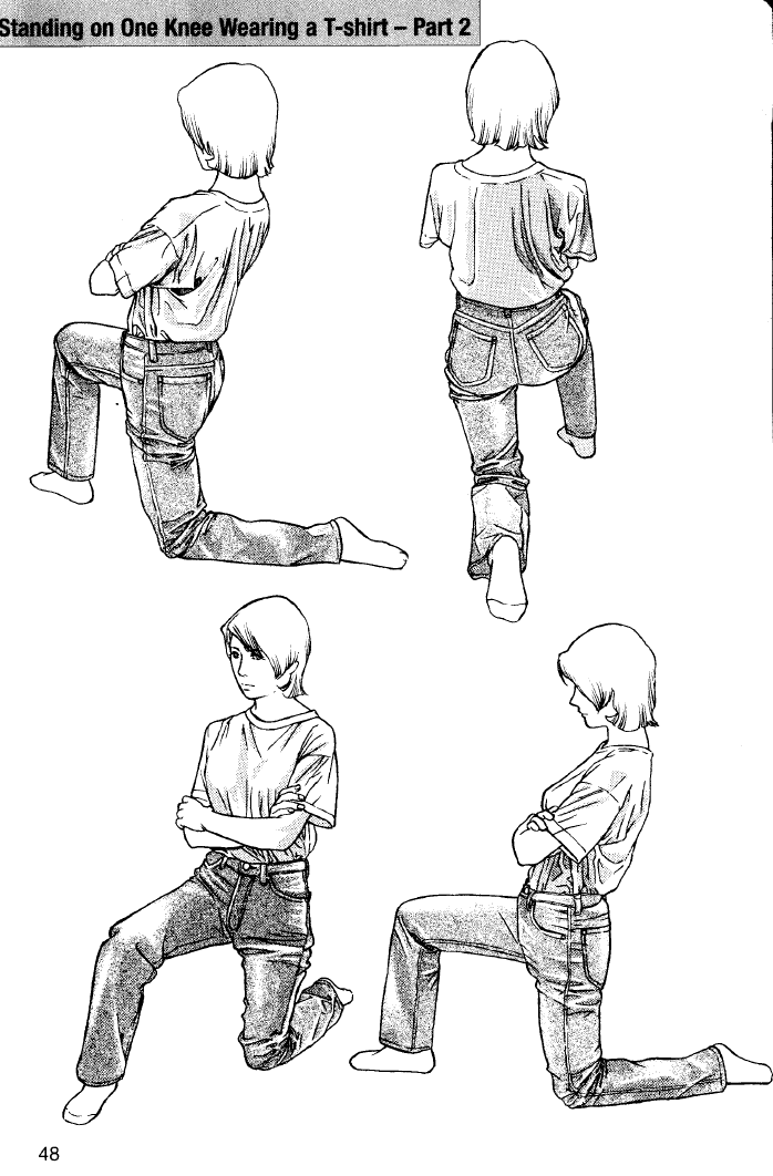Character Design From The Ground Up Book : Clothing examples from different angles how to draw